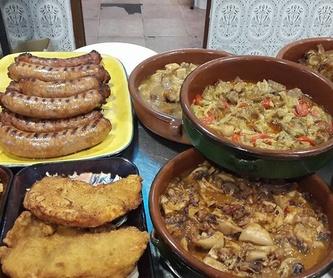 Carta de bocadillos: Cocina casera de Restaurante La Cantonada