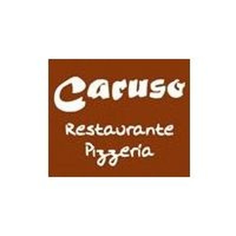 Tagliatelle con salmón y gambas a la crema: Nuestros platos  de Restaurante Caruso