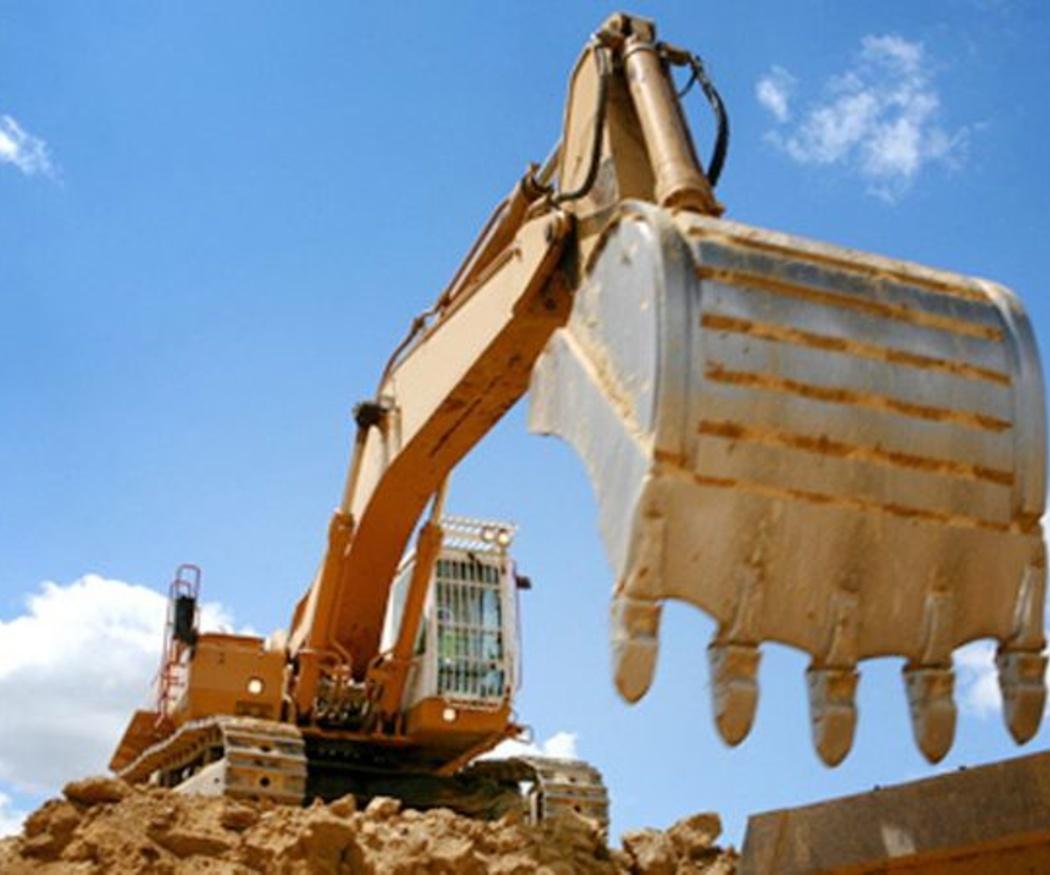 Excavación de zanjas y pozos para la construcción
