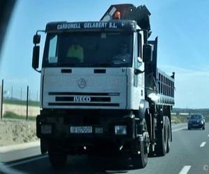 Transporte de materiales para construcción