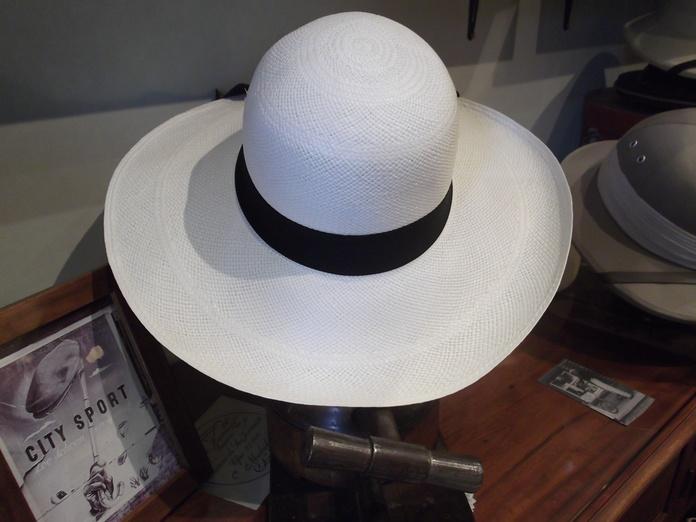 Pamela clásica panamá blanca: Catálogo de Sombrerería Citysport