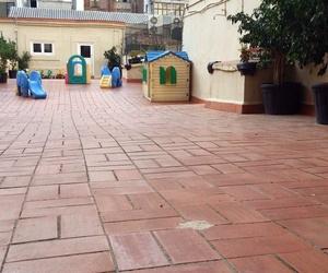 Amplio patio al aire libre