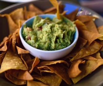 Quesadillas (tortilla de maíz rellenas): Carta de El Tajín Mexicano