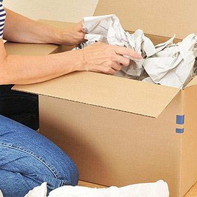Aprovecha la mudanza para desechar los trastos viejos