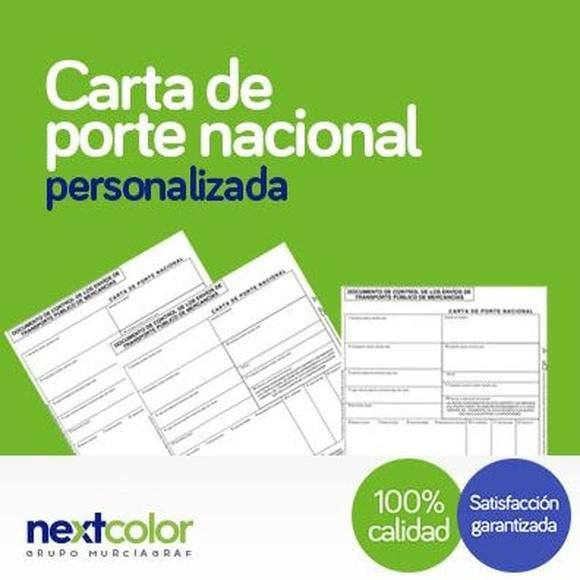 Documentos transporte: Productos de NextColor
