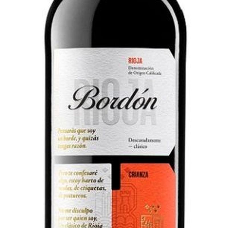 Tinto Rioja Bordón 375 ml: Nuestra Carta de Restaurante Coto do Rano