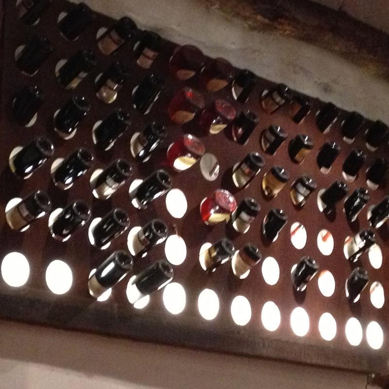 Botellero de hierro: Productos y servicios de Cerrajería Titulcia