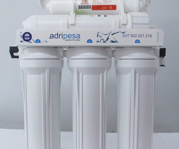 Adriplus/5: Productos y servicios de Adripesa Canarias