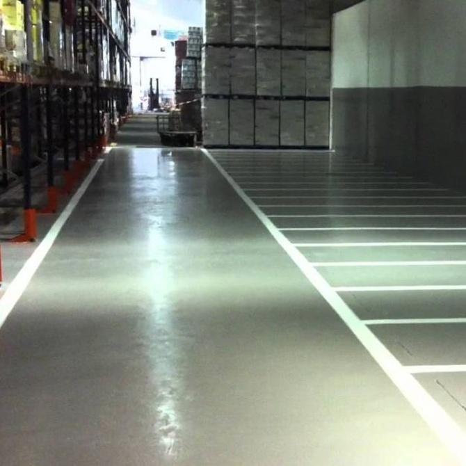 Pavimentos de resina epoxi en instalaciones industriales