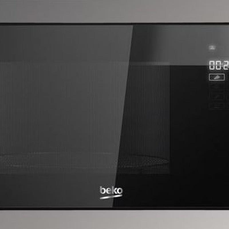 Microondas integrable Beko MGB 25332 BG inox 25L ---189€: Productos y Ofertas de Don Electrodomésticos Tienda online