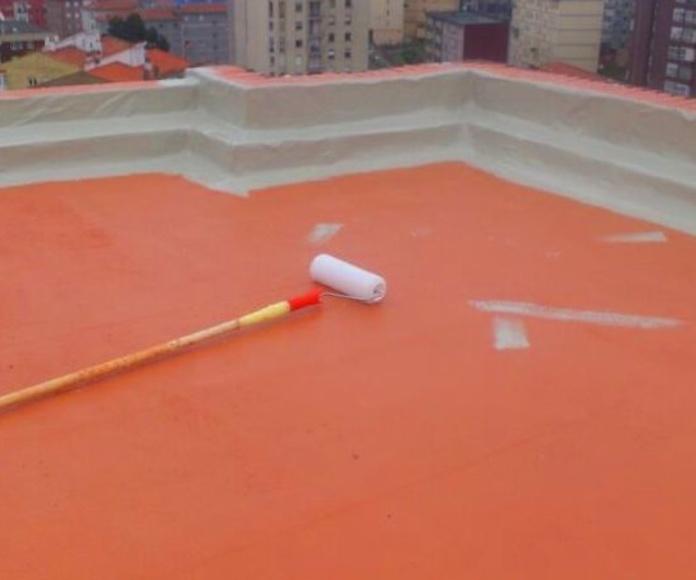 Aplicación de menbranas de poliuretano y cauchos en Santander y Torrelavega.