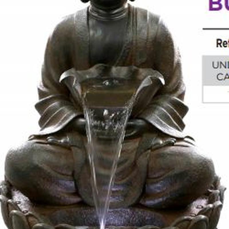 Fuente Buda grande: ¿Qué hacemos? de Ches Pa, S.L.