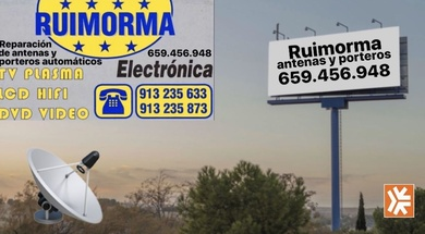 Ruimorma reparación, instalación y mantenimiento de antenas en Plaza de Castilla