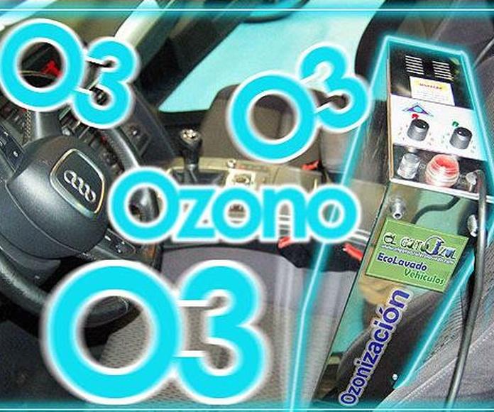Desodorización con Ozono: Servicios y Precios de El Gato Azul Ecolavado Vehículos