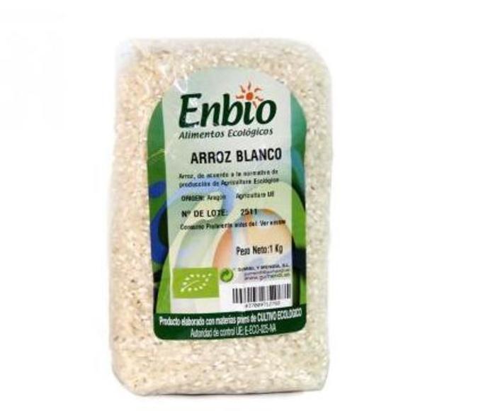 ARROZ blanco, semiintegral e integral. ENBIO.: Catálogo de La Despensa Ecológica