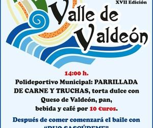 Fiesta de la trucha en Posada de Valdeón en Mayo 2016
