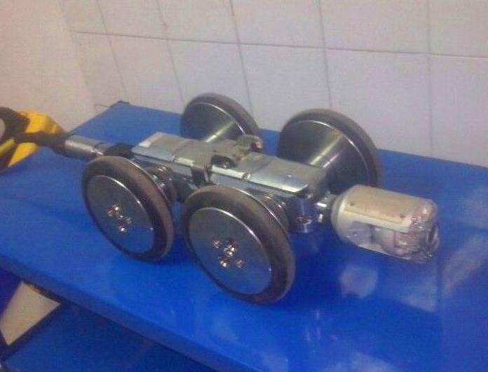 Inspección de tuberías mediante Robot inspección