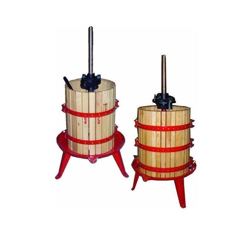 Prensas y depósitos para vino y aceite: Productos de Olivera Reales