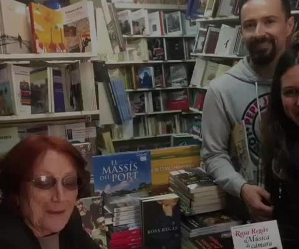 Encuentro con Rosa Regàs en librería Serret y La Torre del Visco