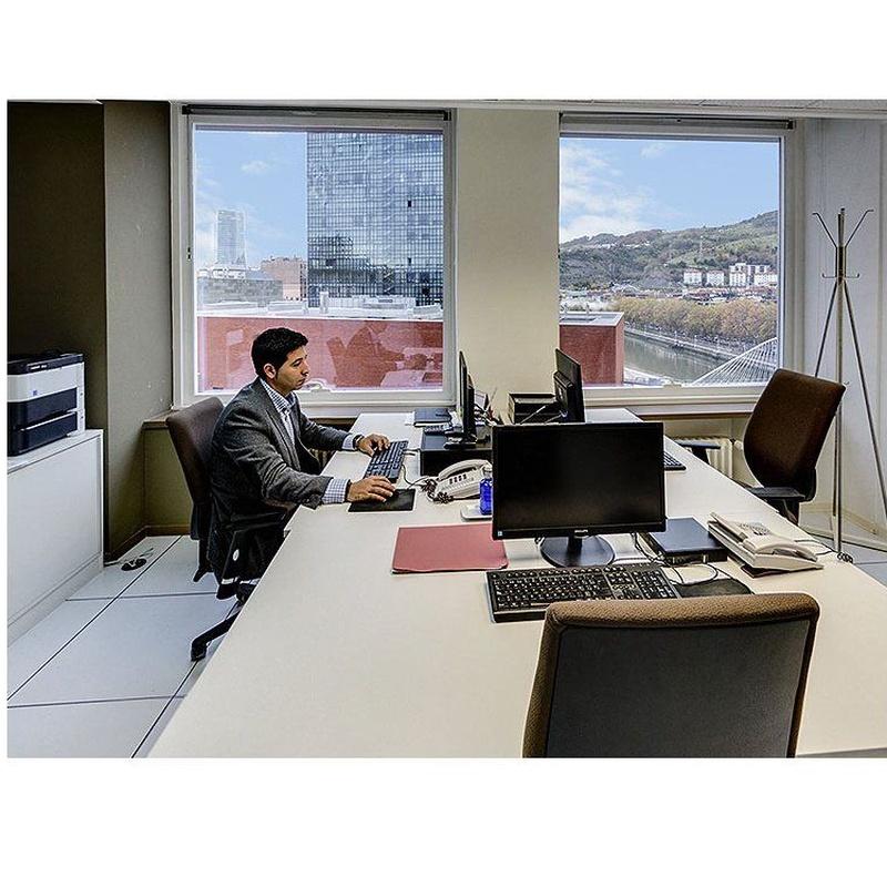 Oficinas equipadas permanentes