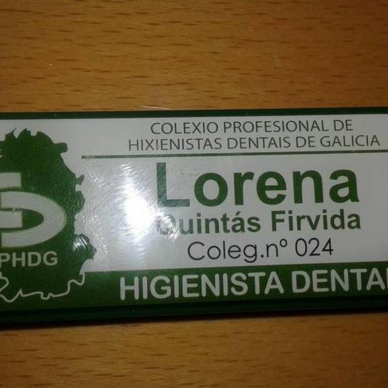 ESPECIALIZACIÓN DE NUESTROS TRABAJADORES: Catálogo de Policlínica Dental Val de Monterrei