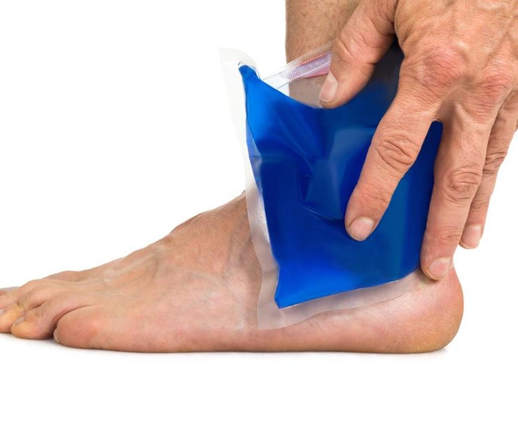 Aplicación de frío y calor en fisioterapia