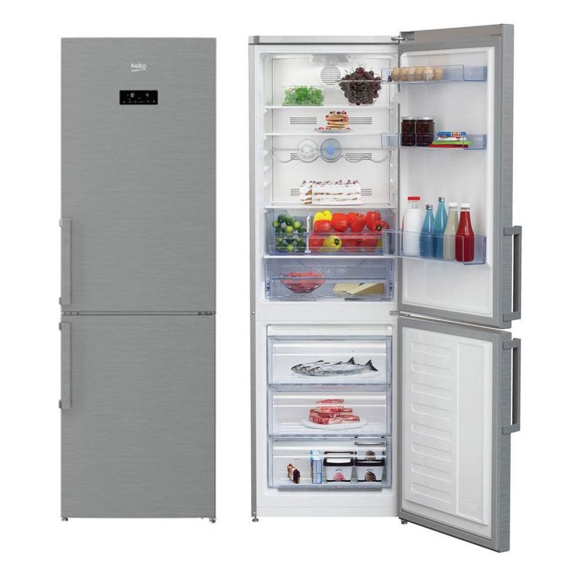 Combi Beko RCNA320E21X Inox Antihuella Display 185x60x60 A+ NoFrost ---370€: Productos y Ofertas de Don Electrodomésticos Tienda online