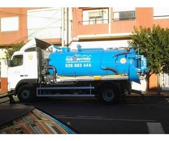 Limpieza de embalses, piscinas...: Servicios de Los Garrido Limpiezas Urbanas