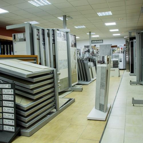 Exposición permanente material construcción Málaga