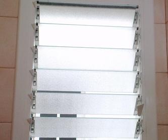 Cerramientos de terraza: Catálogo de Carpintería aluminio Vicar