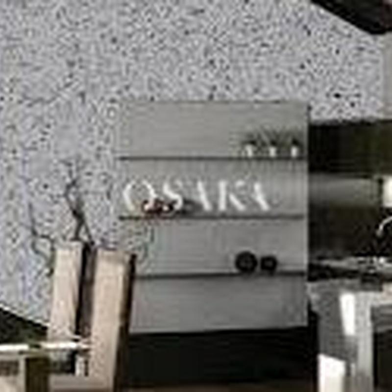 Textil japones OSAKA en almacén de pinturas en pueblo nuevo.
