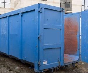 Alquiler e instalación de contenedores de residuos en fábricas