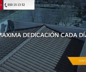 Reparación de tejados en Madrid sur | Reparaciones TE&CU
