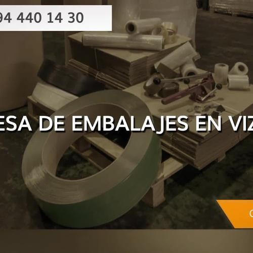 Venta de embalajes en Bilbao: Embalajes Limart