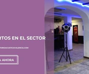Auditoria acústica y certificado acústico en Valencia