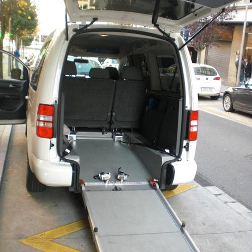 Vehículos de 7 plazas y adaptados para movilidad reducida