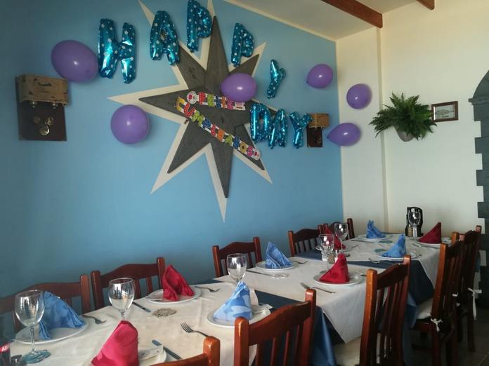 Celebraciones: Carta de Restaurante Vista Lobos
