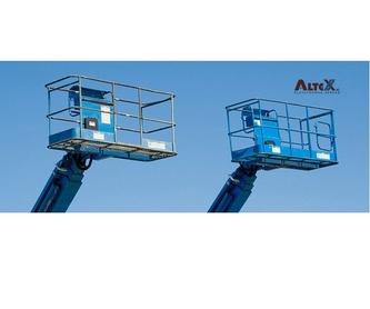 Plataformas de tijera: Productos y servicios de Plataformas Aéreas Altex S.L.