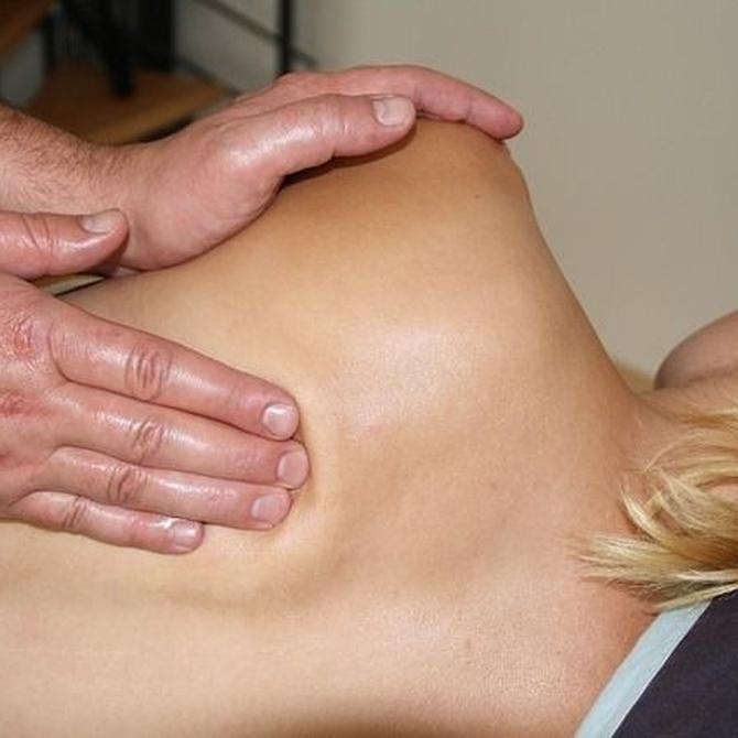 La fisioterapia de la columna