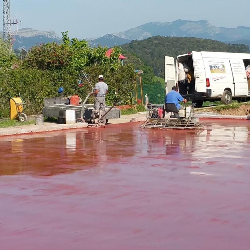 Trabajos de pavimentación: Servicios de Pavimentos Asón