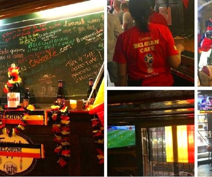 """Somos la """"Fan Zone"""" de Bélgica"""