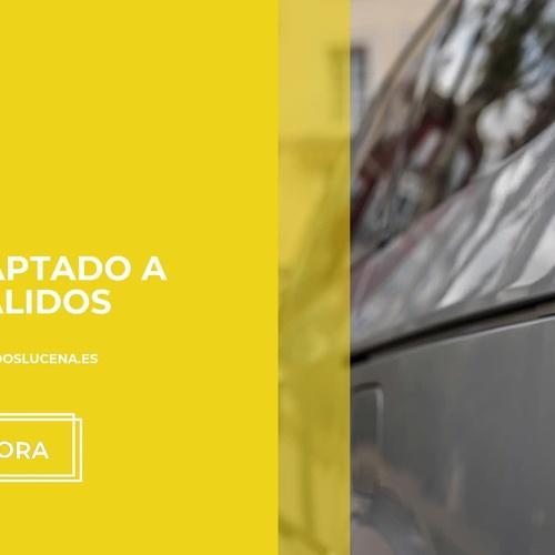 Taxi para minusválidos en Lucena | Taxi Adaptado para minusválidos