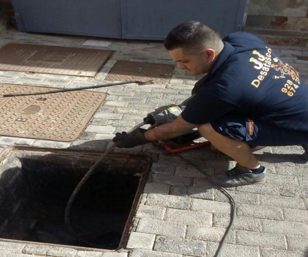 Desatascos urgentes en Las Palmas