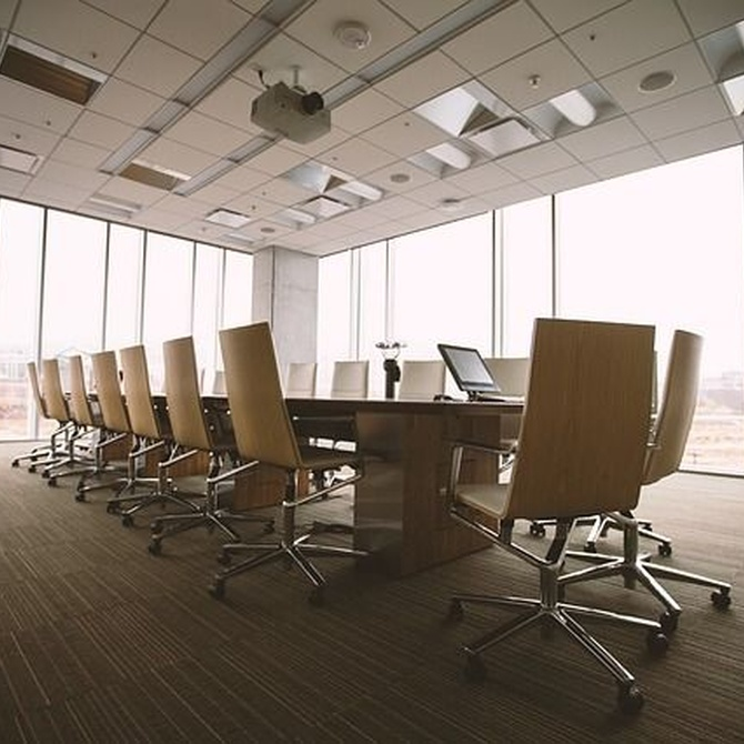 Sala de reuniones en Bilbao para tu empresa
