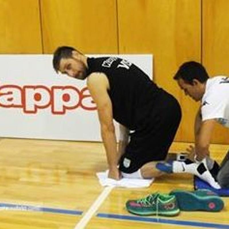 Tratamiento deportistas