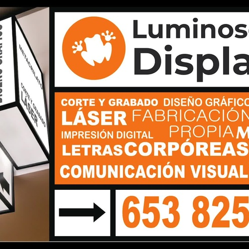 Letras corporeas en Las Palmas | Display Cash & Carry