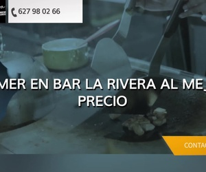 Menú del día en Salamanca | Bar La Rivera