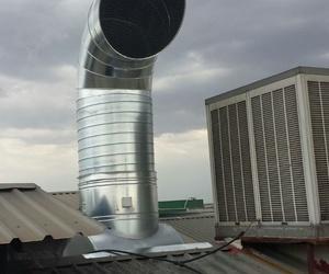 ventilación y extracción de humos en Madrid