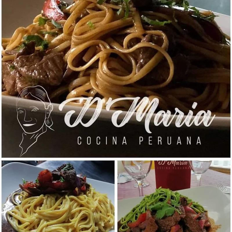 Comida peruana : Carta de TIKA MARIYA