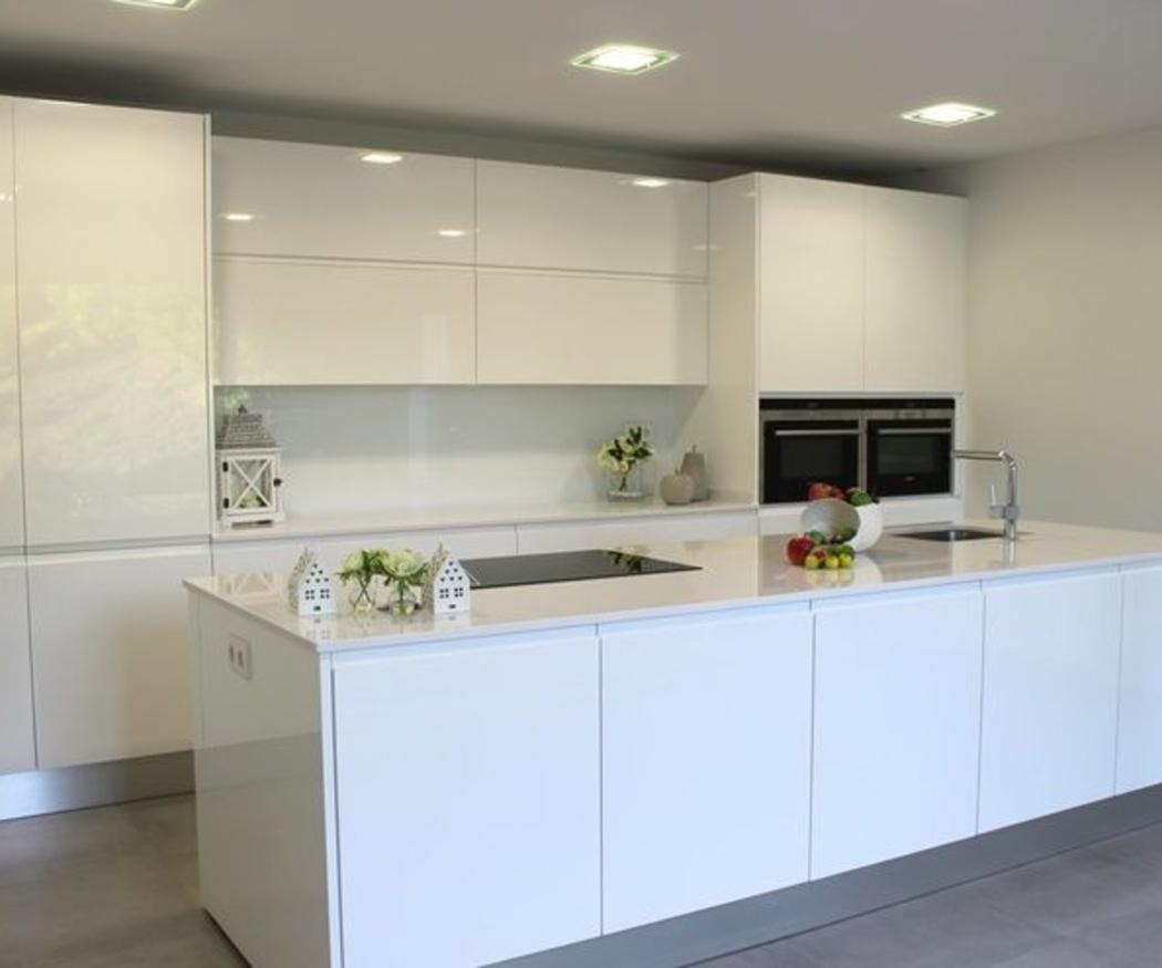 Muebles laminados para cocinas actuales